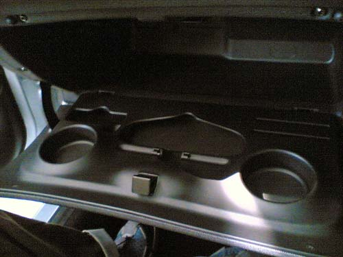Naza Peugeot 206 Bestari interior glovebox