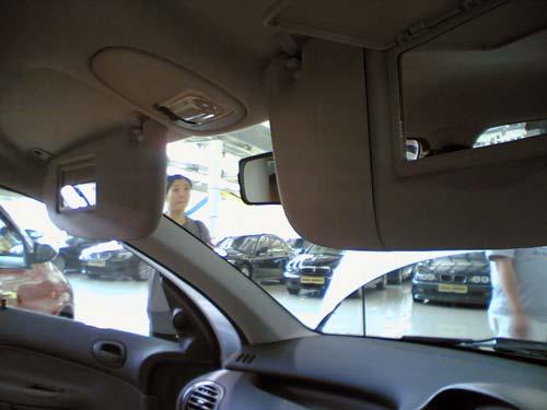 Naza Peugeot 206 Bestari interior mirror