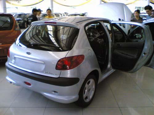 Naza Peugeot 206 Bestari rear shot