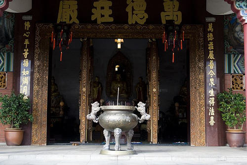 Buddhist Temple at Rawang, Selangor