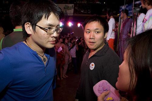 Timothy and Ming from Nuffnang