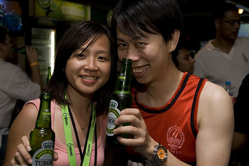 Siao Ling from Tuborg