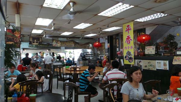 Hakka pork ribs rice, Klang