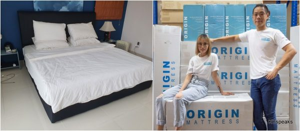 founders of Origin Mattress - Shaun and Gee