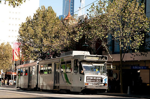 Melbourne city Tram services