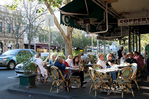 Lygon Street - little litaly, Melbourne