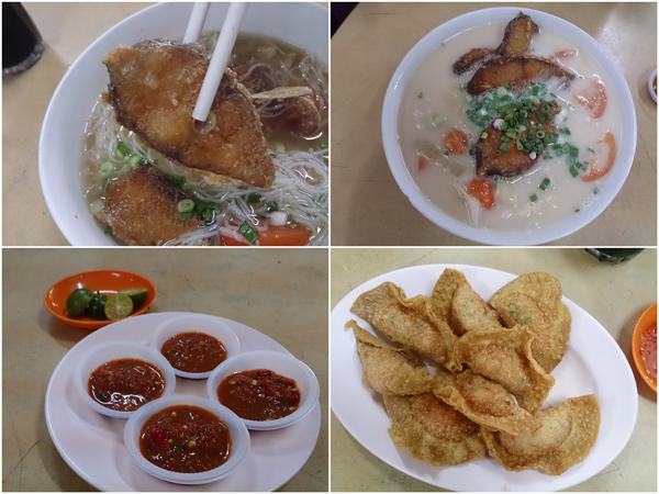 """instead of fish head, we chose """"ma yau"""" fish filets, fried suikao too"""