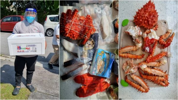 frozen seafood delivery