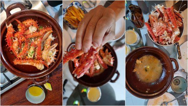 Alaskan King Crab recipe, the simple way
