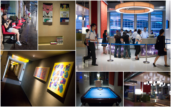Aloft KL, lobby and quirky art