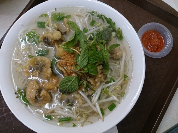 Vietnamese beef, chicken or fish noodle at RM 5.00 to RM 6