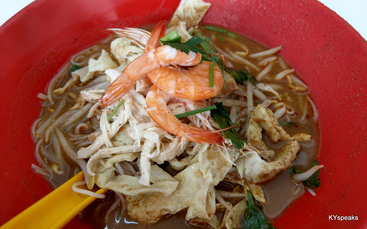 original laksa sarawak, just like how they are supposed to be