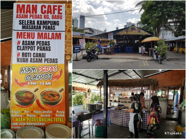 Man's cafe updated, Asam Pedas