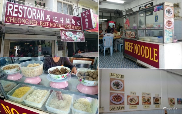 Cheong Kee beef noodle Taman Berkeley