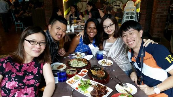 Kelly, Sheng, Latha, Joyce, KY