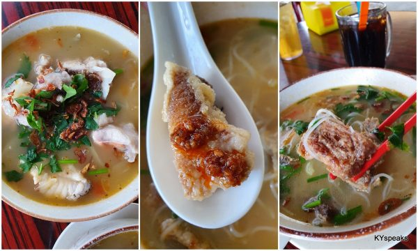 fresh fish head vs fried fish 'lam'