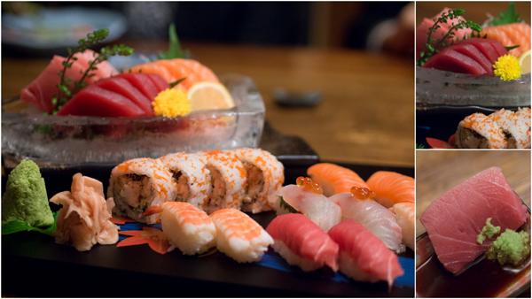 Sashimi/ Sushi Combi