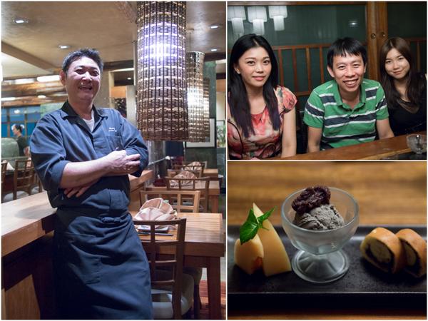 Chef Teoh, Kelly, KY, Jean, and Azuki Banana Dorayaki