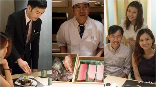KY, Ringo, & Caydence at Hanaya Japanese Restaurant