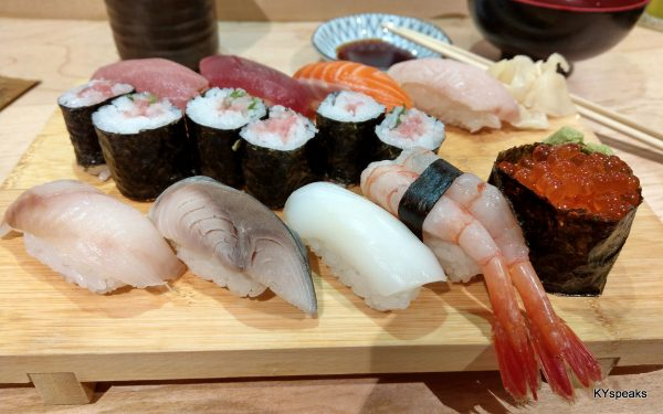 Chef's selected sushi (special)