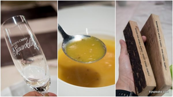 white truffle pumpkin potage, wine barrel vs whisky barrel