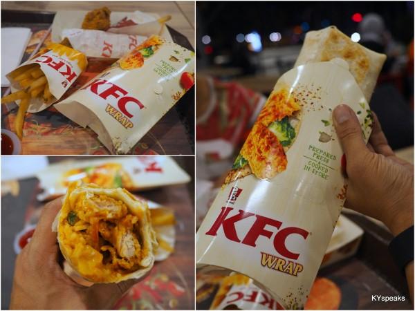 KFC Masak Merah Rice Wrap