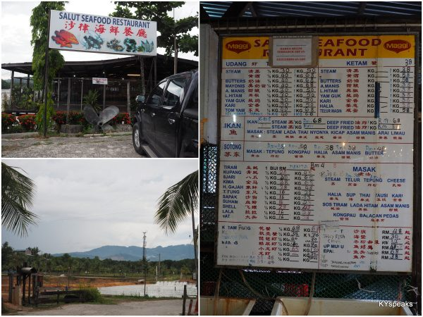 Salut Seafood, located within a prawn farm