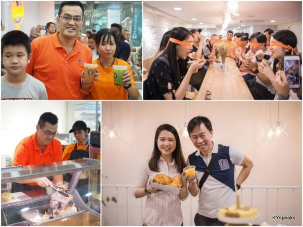 CEO Datuk Seri Dr KK Chai, Eunice & KY