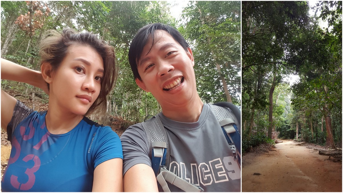 hiking at Penang hill