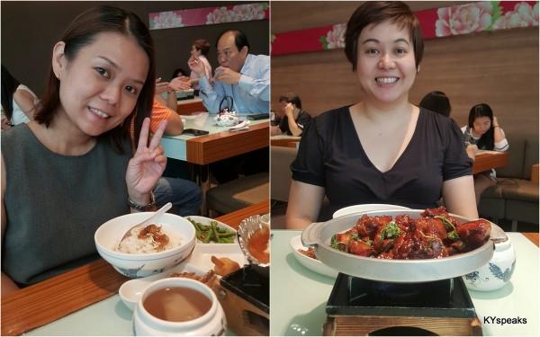 my lunch partners at Kiki Taiwanese Restaurant, KLCC