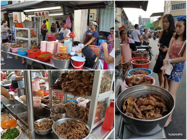 Kimberly Street Koay Chap Stall