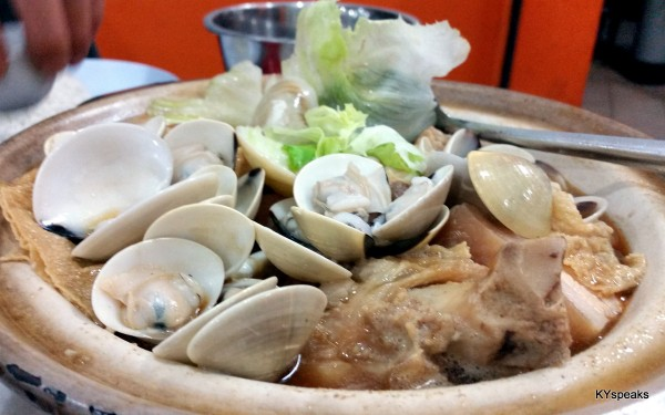 how about bak kut teh with lala & crabs?