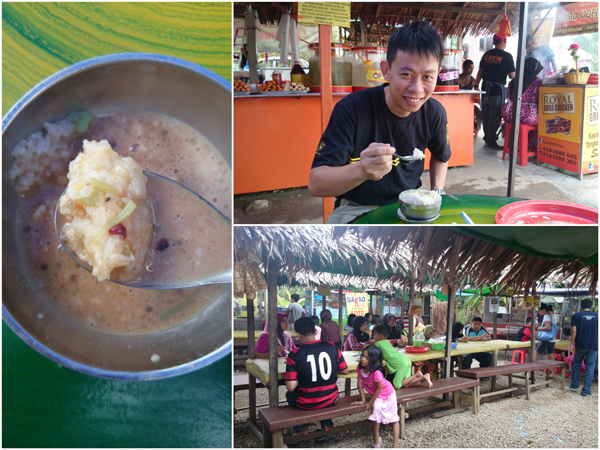 I really love tapai on cendol, you don't find it everywhere