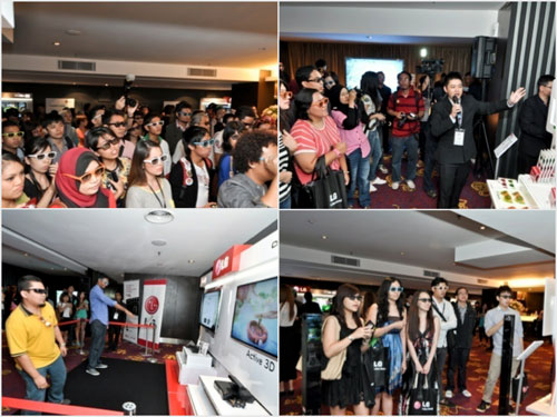 LG Cinema 3D Smart TV Launch Bloggers Party