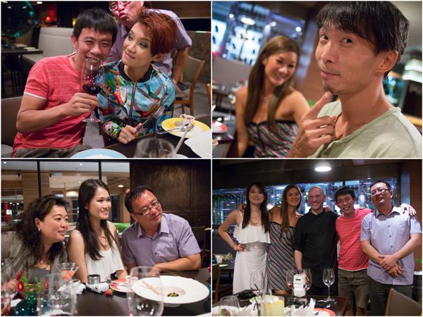 KY, Haze, Mei & Josen, Melissa, Kelly, Chengyi, Chef Andrea Alimenti