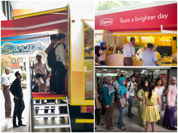 Lipton Mobile Roadshow at Ampang Park
