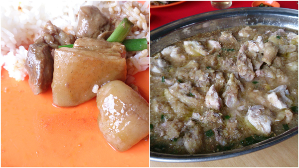 kampung chicken with ginger
