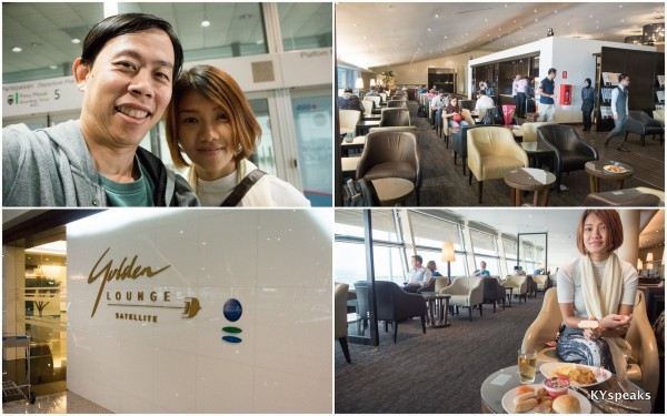Malaysia Airlines Golden Lounge at KLIA