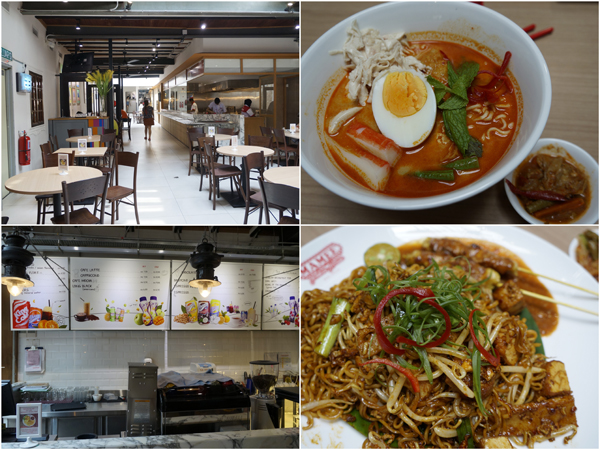 Mamee Jonker house is also a restaurant, serving Mamee Noodle and other dishes