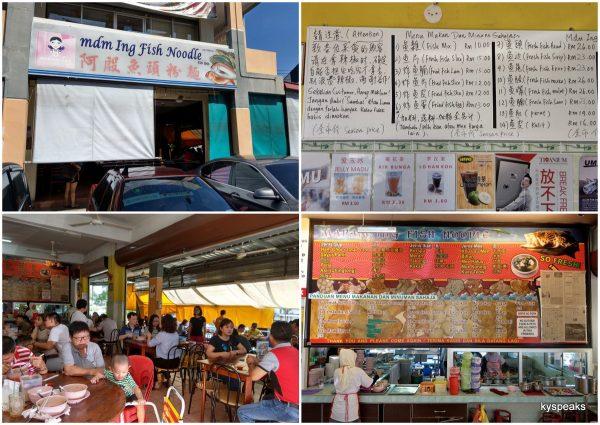 Madam Ing fish noodle, Kota Kinabalu