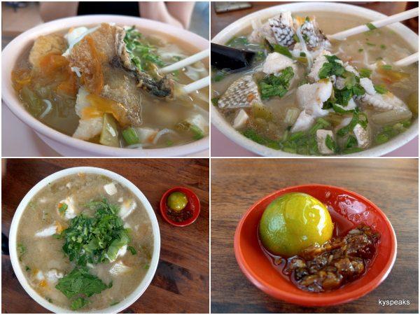 """garupa fish fillet, and their """"sambal"""""""