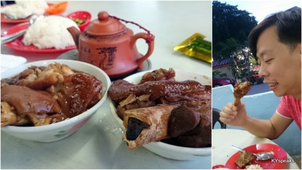 if you want a good bowl of bak kut teh, go to Klang