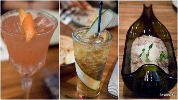 Cocktails & Risotto Con Salsicola E Vino Rosso