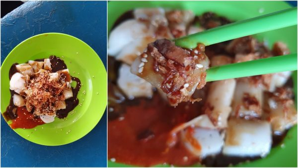 Penang style chee cheong fun at O&S, rolled