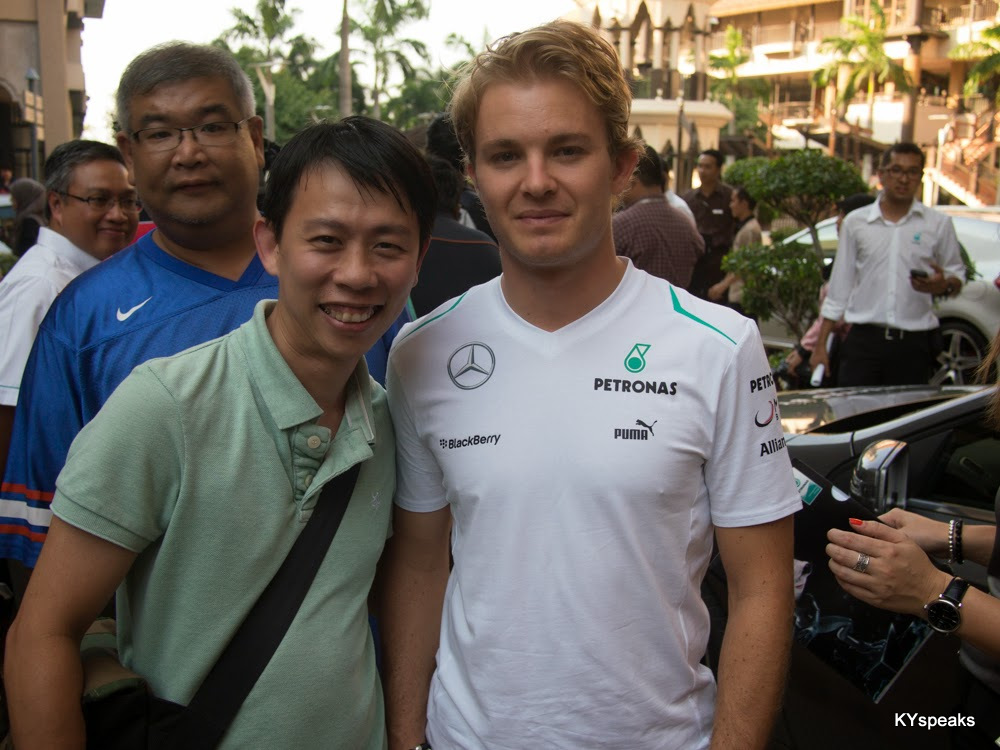 KY & Nico Rosberg, 2013