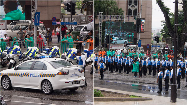PDRM traffic drill, KL's finest
