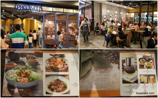 Pho Vietz at Atria Shopping Gallery, almost always packed