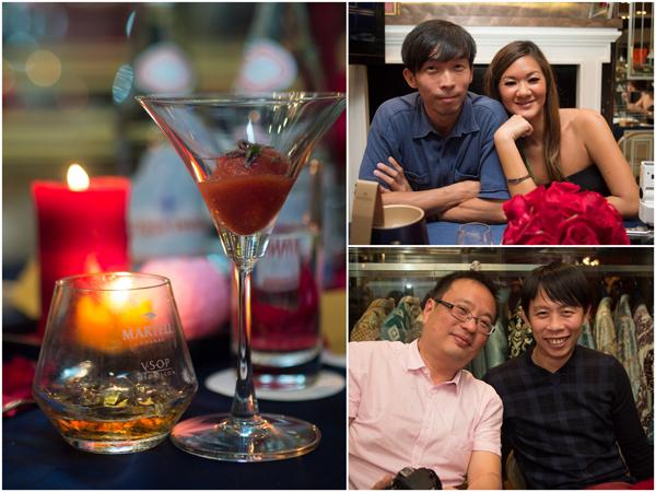 tomato sake granita, sour plum shaved. Josen, Mei, Cheng Yi & KY