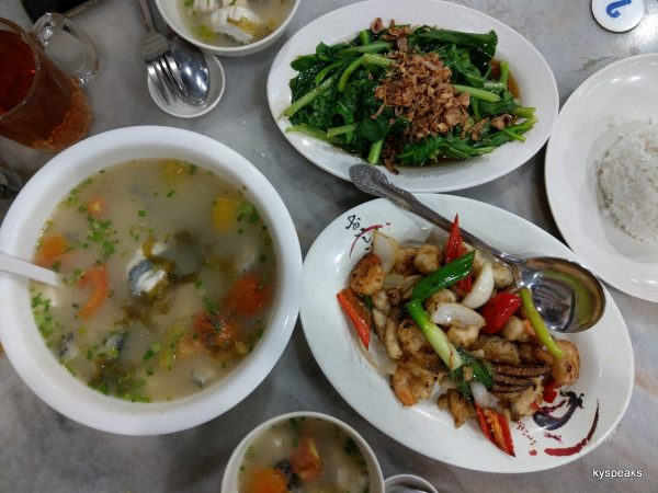 three dishes for two hungry souls