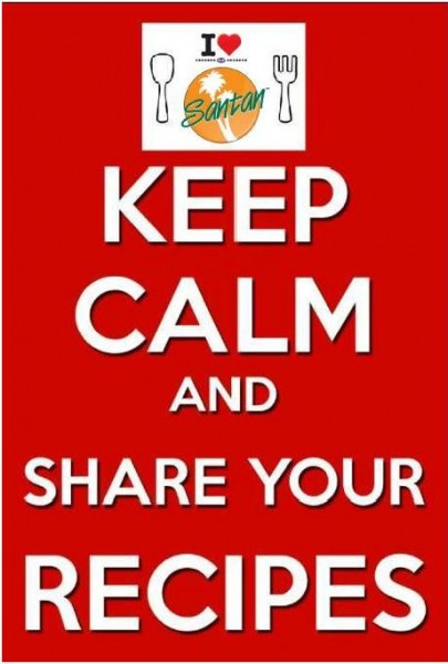 keep calm and share your recipes